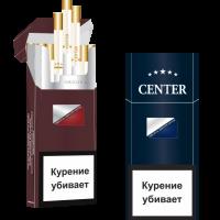 Сигареты Center Super Slim Blu