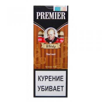 Сигариллы Premier Whisky Wood Tip (1 шт)