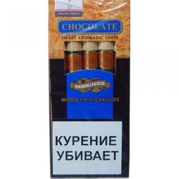 Сигариллы Handelsgold Chocolаte Wood Tip-Cigarillos (5 шт)
