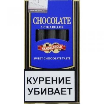 Сигариллы Handelsgold Chocolate Cigarillos (5 шт)