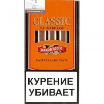 Сигариллы Handelsgold Classic Cigarillos (5 шт)