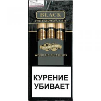Сигариллы Handelsgold Black Wood Tip-Cigarillos (1 шт)