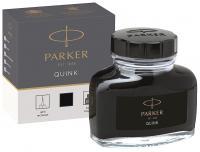 Флакон с черными чернилами для перьевых ручек Parker Bottle Quink Z13 (1950375)