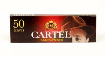 Бумага сигаретная Cartel Red (50 шт)