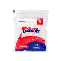 Фильтры для самокруток Super Discont (6 мм/300 шт)