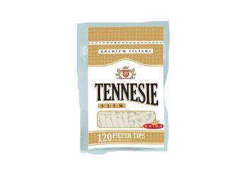 Фильтры для самокруток Tennesie Slim (120 шт)