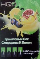 Картриджи HQD Гранат, Смородина и Лимон (1 шт)