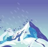 Табак для кальяна Al Ajamy Ice Age Blizzard (50 г)