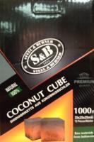 Уголь для кальяна S&B (72 куб)