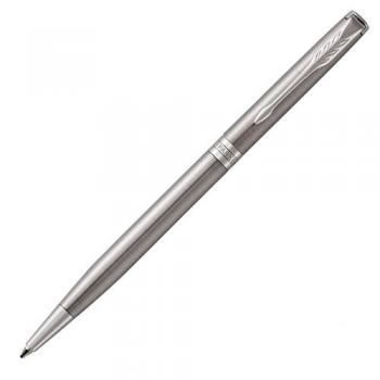 Ручка шариковая Parker Sonnet Core Slim Stainless Steel CT (1931513)