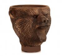 Чаша для кальяна Медведь