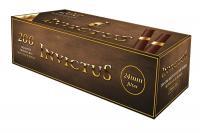 Гильзы сигаретные Invictus Brown Tubes Gold Ring (200 шт)