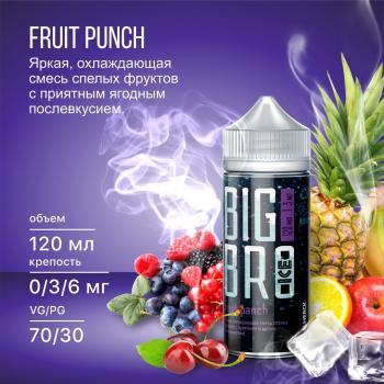 Жидкость Big Bro Ice Fruit Punch (3 мг/120 мл)