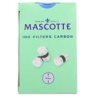 Фильтры для самокруток Mascotte Filters Carbon (8 мм/100 шт)