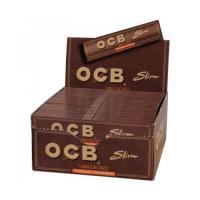 Бумага сигаретная OCB Slim Virgin unbleached 32 шт