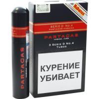 Сигары Partagas Serie D №4 1*3 шт