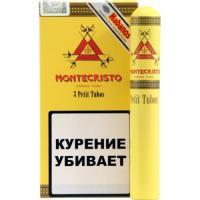 Сигары Montecristo Petit Tubos 1*3 шт