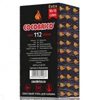 Уголь для кальяна Coco Brico (112 куб)