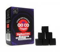 Уголь для кальяна Qoco Turbo Big Boss Cube (72 куб)