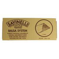 Фильтры для трубки Savinelli Бальса 6 мм 20 шт