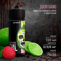 Жидкость Sweet Evil Sour Gang (6 мг/120 мл)