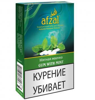 Табак для кальяна Afzal Жевательная резинка с мятой (40 г)
