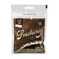 Фильтры для самокруток Smoking Brown Slim Filter 6 мм 120 шт