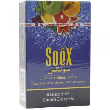 Кальянная смесь Soex Blue Extreme Синий экстрим (50 г)