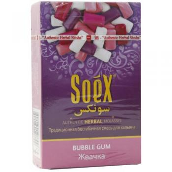 Кальянная смесь Soex Bubble Gum Жвачка (50 г)