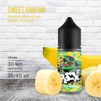 Жидкость REX Salt Sweet Banana (25 мг/30 мл)