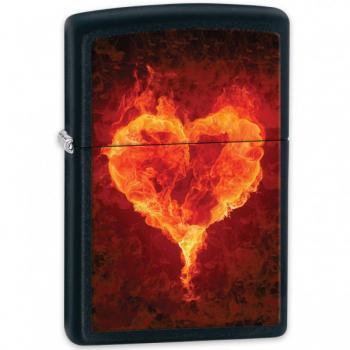 Зажигалка Zippo 28313 Hearts Black Matte