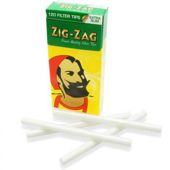 Фильтры для самокруток Zig-Zag Extra Slim (5.5 мм/120 шт)